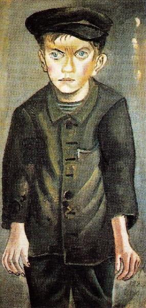 'Boy' by Otto Dix. 1920