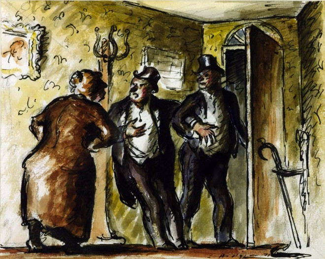 The Departure 1931 by Edward Ardizzone 1900-1979