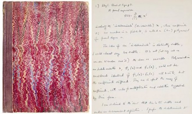 Notebook-Used-By-Alan-Turing-To-Sell-At-Auction-244330