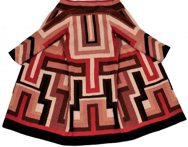 Sonia Delaunay manteau para Gloria Swanson