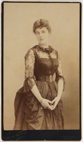 NPG P499; Jeanette ('Jennie') Churchill (nÈe Jerome), Lady Randolph Churchill by Nadar (Gaspard FÈlix Tournachon)