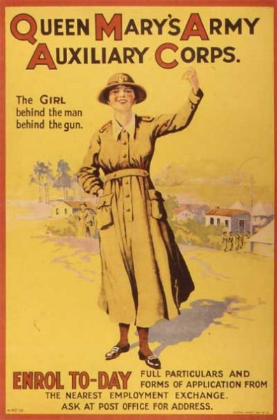 queen mary army poster