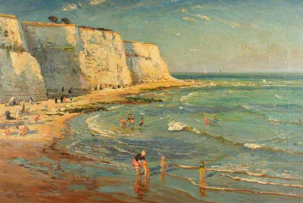 'The Seaside' Alice Maud Fanner c.1920  Brighton and Hove Museums and Art Galleries