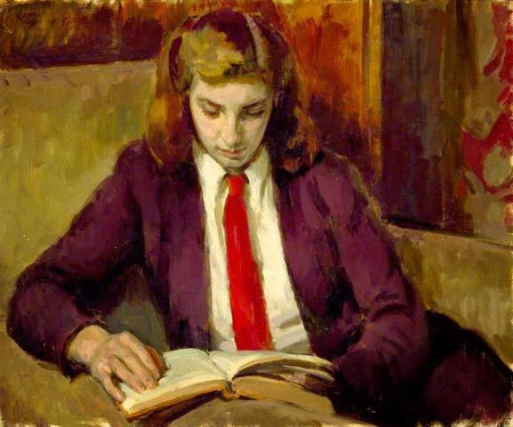Henrietta Reading 1949 H Lamb RA