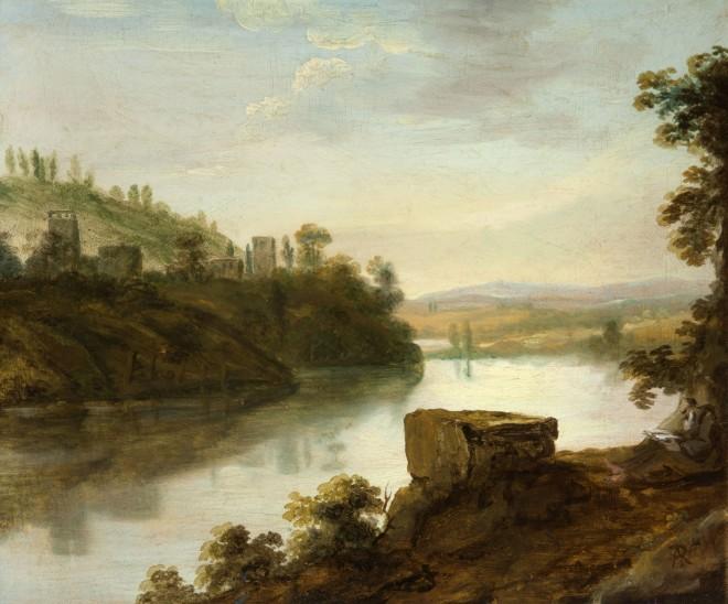 Pastoral-Landscape. Charlotte Nasmyth 1800sjpg