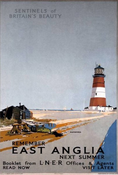 Remember East Anglia Next Summer, Orfordness Lighthouse, Suffolk