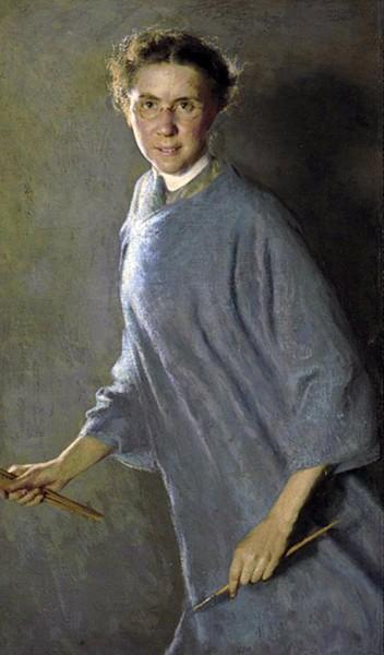 MargaretFosterRichardson.jSelf portrait 1912