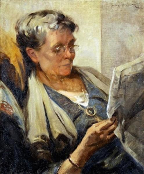 Fuller, Leonard - Marjorie Mostyn The Artist's Wife