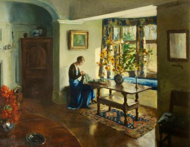 Fuller, Leonard John, 1891-1973; Autumn Sunshine