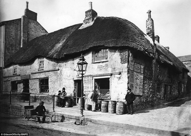 langley stores penzance 1890