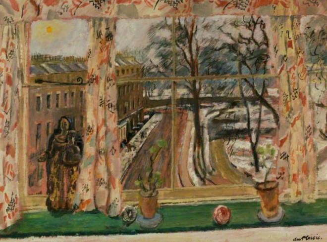 Du Plessis, Enslin, 1894-1978; Mecklenburgh Square, Winter