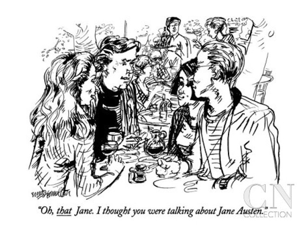 william-hamilton-oh-that-jane-i-thought-you-were-talking-about-jane-austen-new-yorker-cartoon