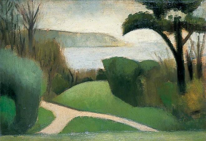 Gertler, Mark, 1891-1939; Near Swanage, Dorset