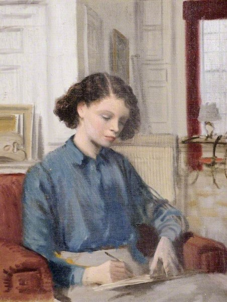 Whistler, Rex, 1905-1944; Lady Caroline Paget (1913-1976), Later Lady Duff