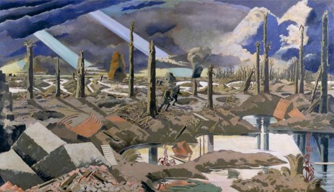 Nash, Paul, 1889-1946; The Menin Road