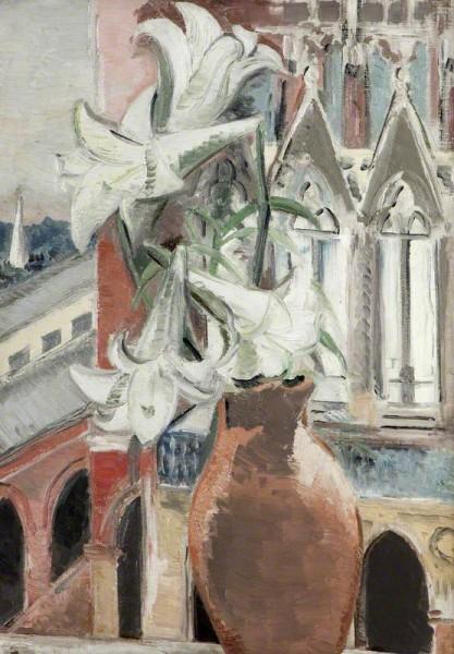 Nash, Paul, 1889-1946; St Pancras Lilies