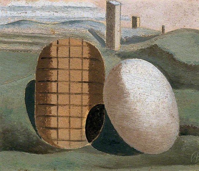 Nash, Paul, 1889-1946; Landscape Composition (Objects in Relation)