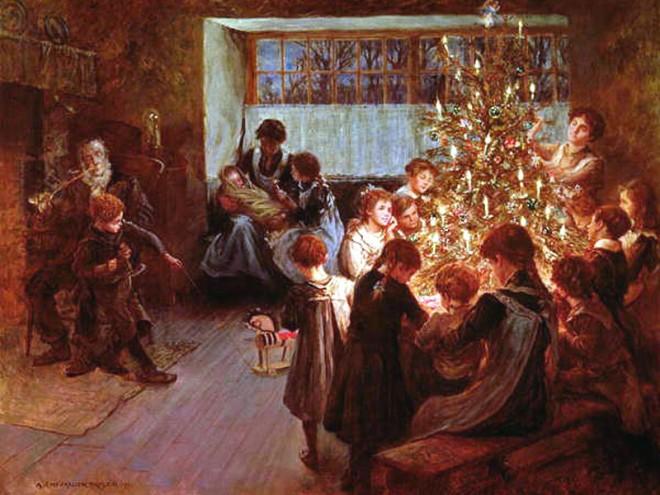 Christmas-Tree-1911 albert tayler