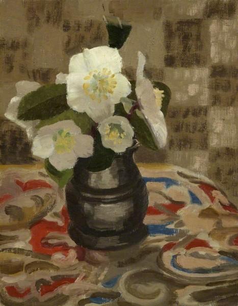 Budgett, Beatrice Helen, 1870-1944; Christmas Roses