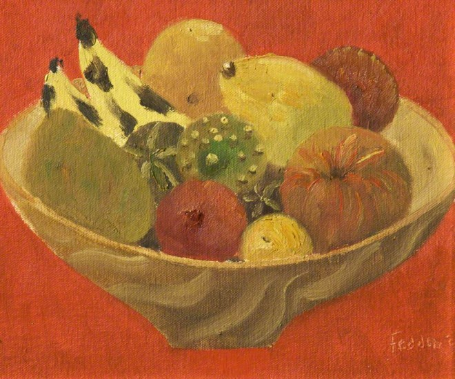Fedden, Mary, 1915-2012; Fruit at Christmas