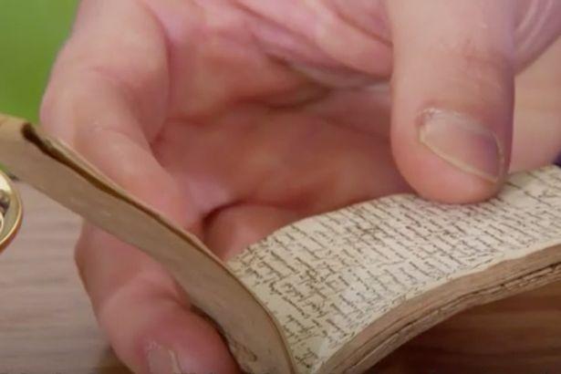 Notebook-written-by-unknown-17th-century-William-Shakespeare-scholar