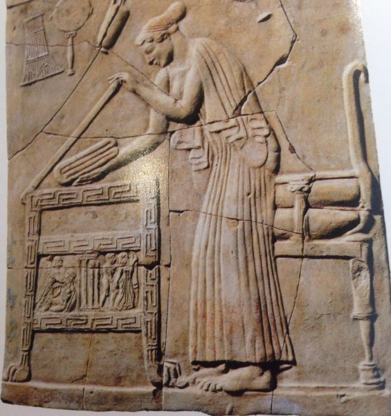 Offering toPersephone Locri South italy 450 BCE