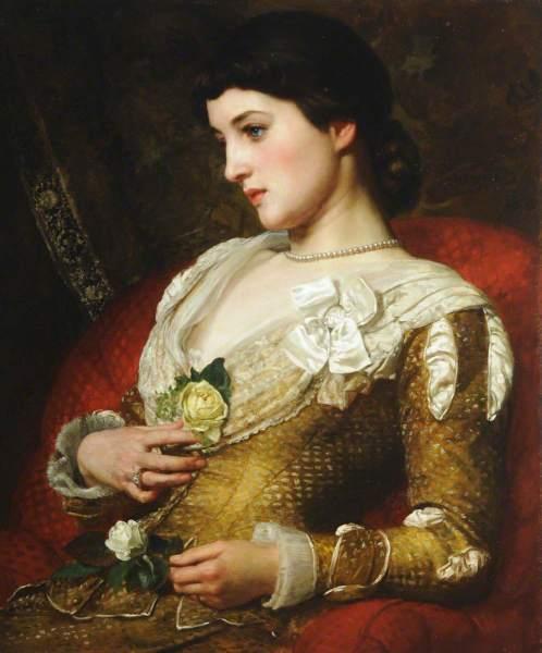 Poynter, Edward John, 1836-1919; Mrs Langtry (1853-1929)