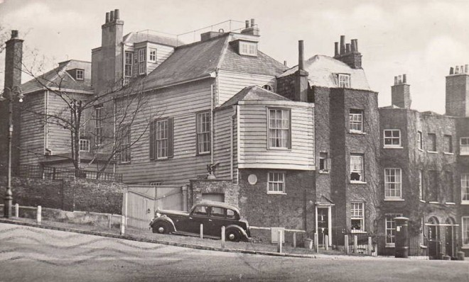 romney-s-house-hollybush-lane-hampstead-1940s