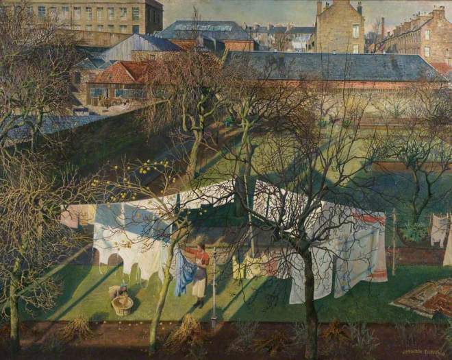 Patrick, James McIntosh, 1907-1998; A City Garden
