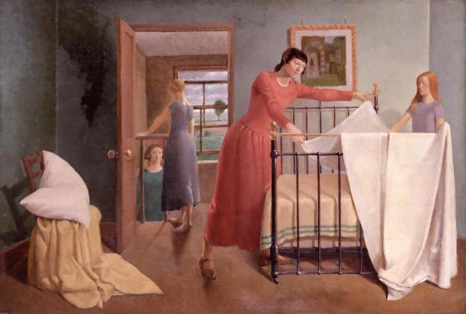 Any Morning exhibited 1929 by Margaret Barker born 1907