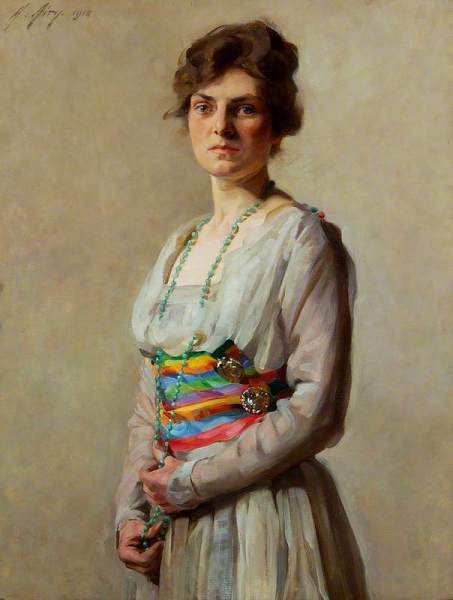 Airy, Anna, 1882-1964; Mrs Monica Burnand