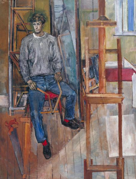 Portrait of Kevin Maybury 1956 by John Minton 1917-1957