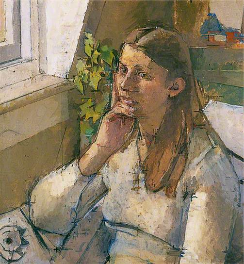 william coldstream girl reflecting