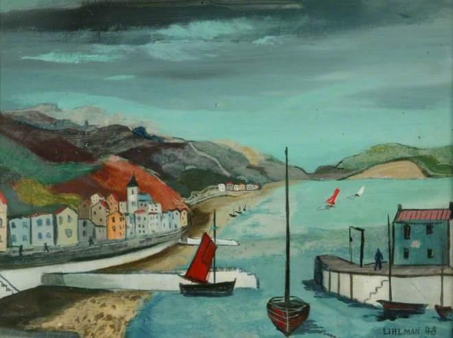 Uhlman, Fred, 1901-1985; Near Lyme Regis