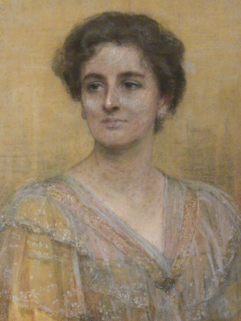 Eleanor Margaret Cropper, Lady Acland (d.1933) by Florence Veric Hardy Small (Nottingham c.1860 - London 1933)