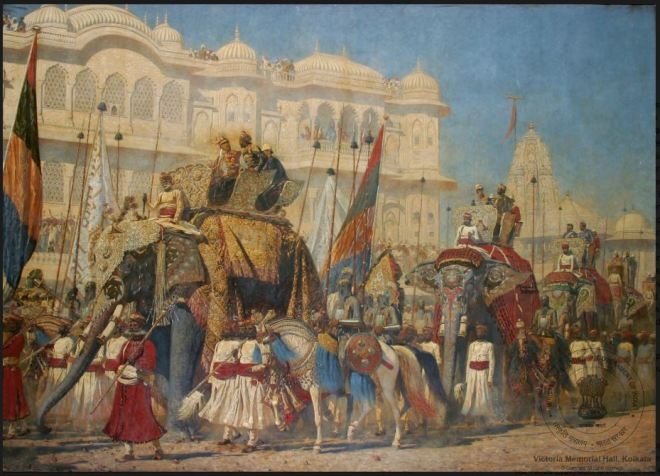 The Prince of Wales at Jaipur, 4th February 1876, Vassili Vereschaginpg