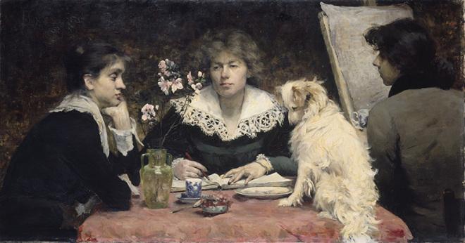Louise-Catherine Breslau_LesAmies_1881_