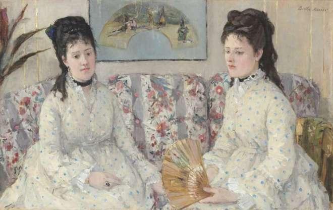 berthe morisot the sisters 1869