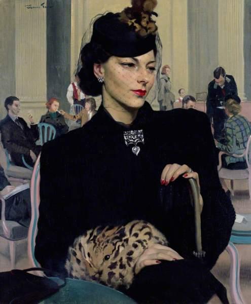 Gunn, Herbert James, 1893-1964; Pauline Waiting