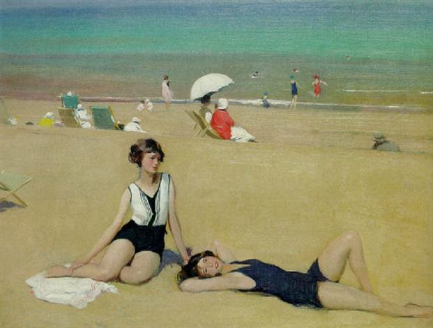 herbert-james-gunn-sunbathers