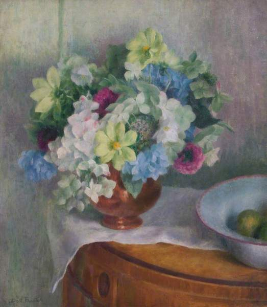 Procter, Dod, 1892-1972; Autumn Flowers