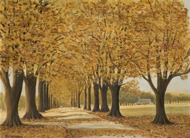 Broderick, Ken, 1912-1990; Autumn Leaves