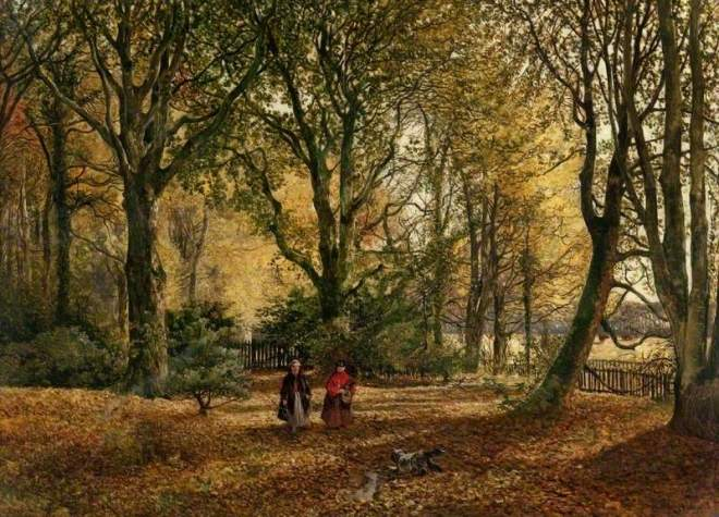 Donald, John Milne, 1819-1866; Autumn Leaves