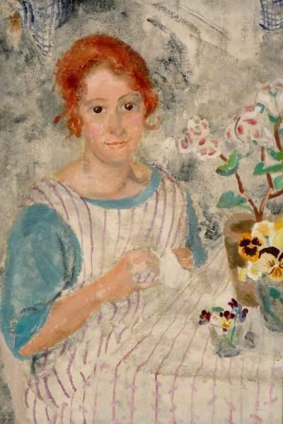 Nicholson, Winifred, 1893-1981; Amy