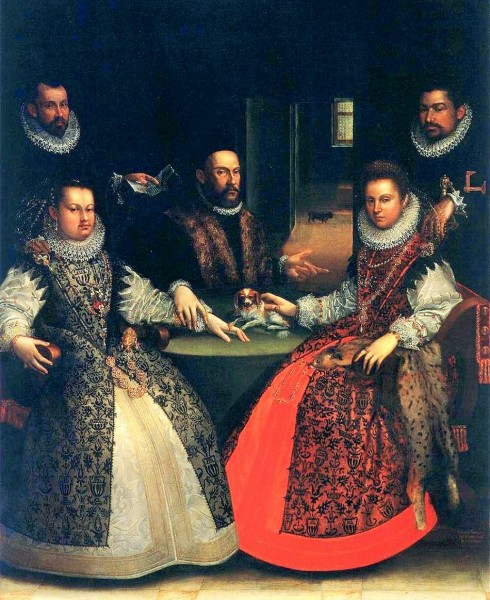 Lavinia Fontana (1552-1614) Portrait of the Gozzadini Family, 1584