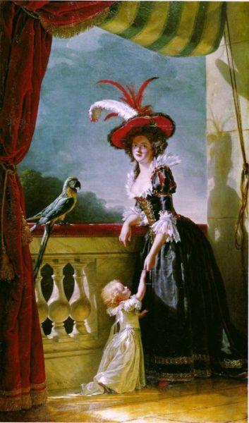 portrait of louise elisabeth