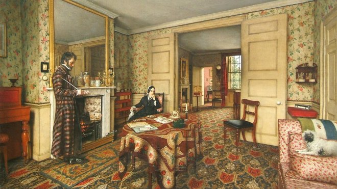 A Chelsea Interior by Robert Tait