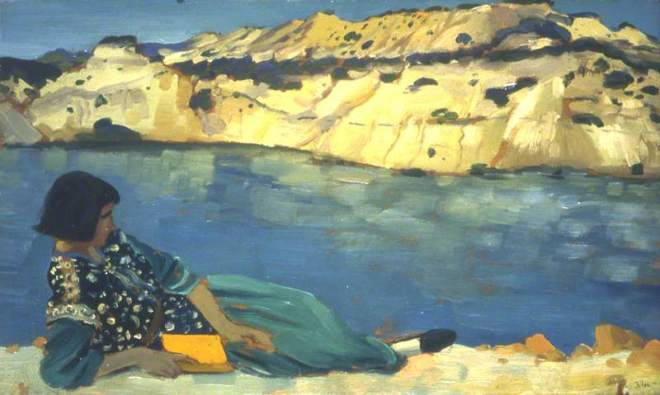 John, Augustus Edwin, 1878-1961; The Blue Pool