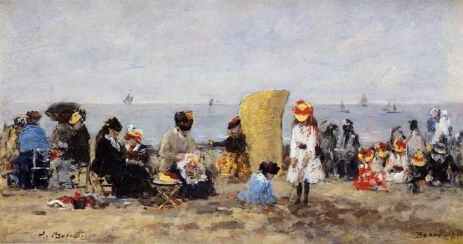 beach-scene-trouville-1881boudin