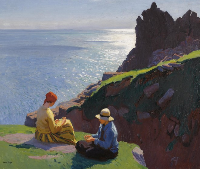 on the cliffs laura knight sotheby's
